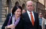 Fredrik Reinfeldt och Roberta Alenius väntar barn