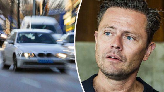 Fredrik Wikingsson har blivit av med körkortet